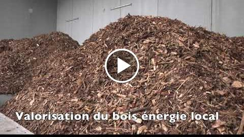 Chaufferie et bois et réseau de chaleur  Avranches (50)