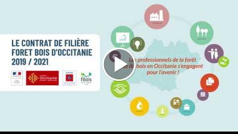 Le contrat de filière forêt en Occitania 2019 – 2021