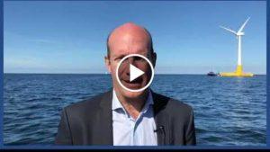Floatgen, l'éolienne flottante à la conquête des mers