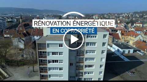 Rénovation énergétique en copropriétés : Copropriété Le Durgeon à Vesoul (71)