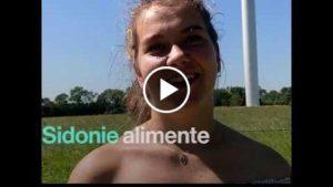 Brut – Sidonie est co-propriétaire du parc éolien qui alimente sa maison