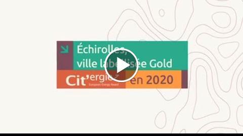 Cit'ergie : Echirolles, collectivité labellisée Gold
